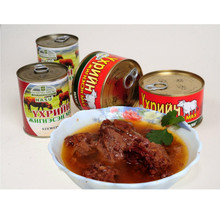 Canned Steamed Beef, Mongolian natural meat product