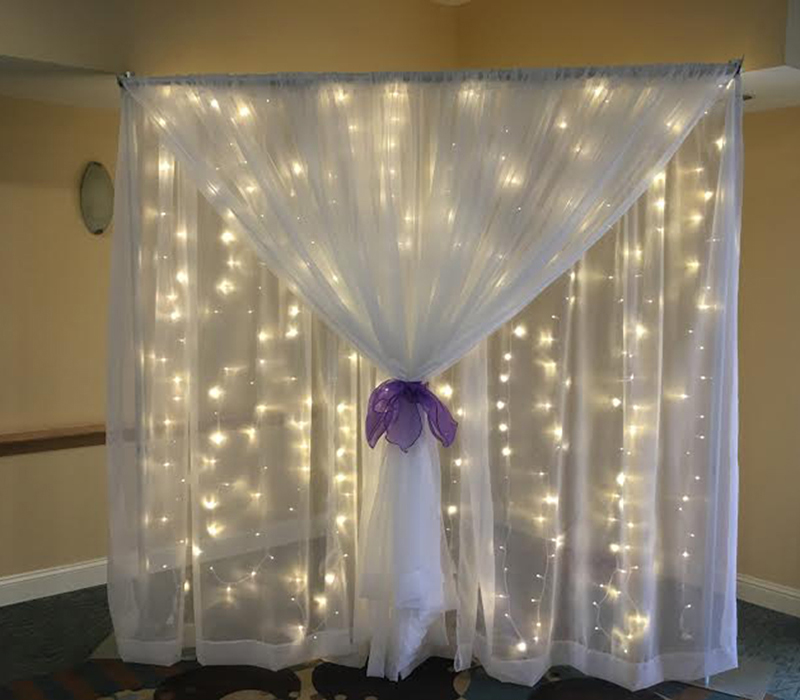 drapery hardware portable wedding pipe and drapes