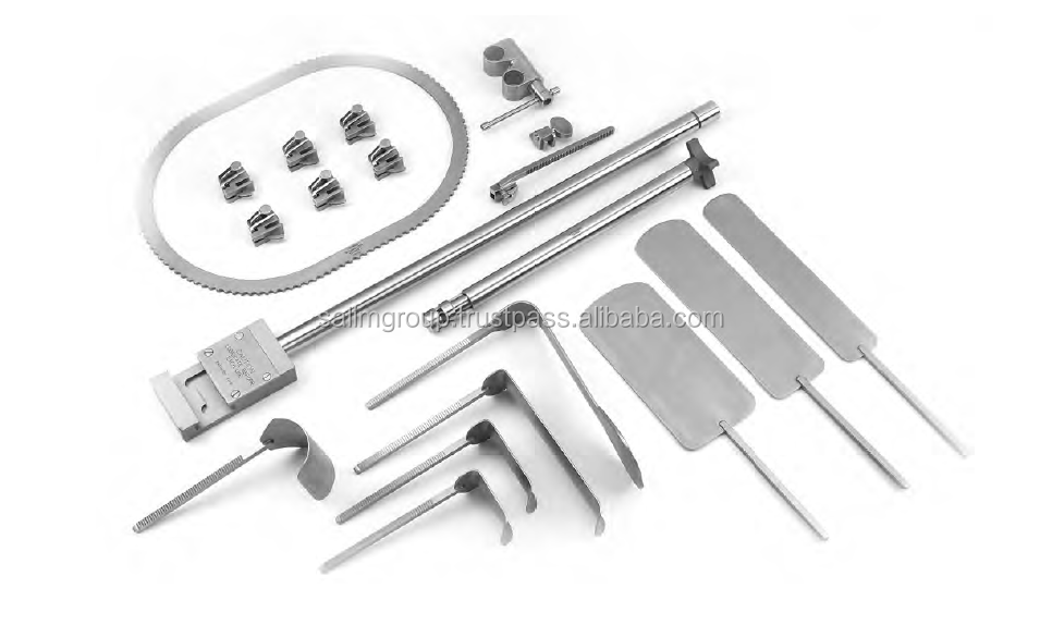 Surgical Bookwalter Complete Retractor Set With Stand And Fram