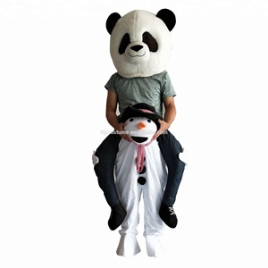 Party Costume Christmas Costumes Snowman Mascot Ride on Costume Adult Costumes Halloween