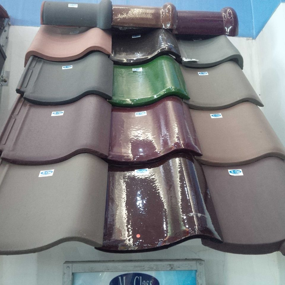 Mclass glazed roof tiles