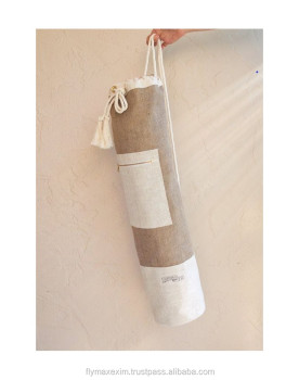 Canvas yoga mat bags/ cotton yoga mat bags