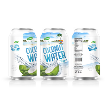 330ml Nice Can 100% Pure Coconut Water
