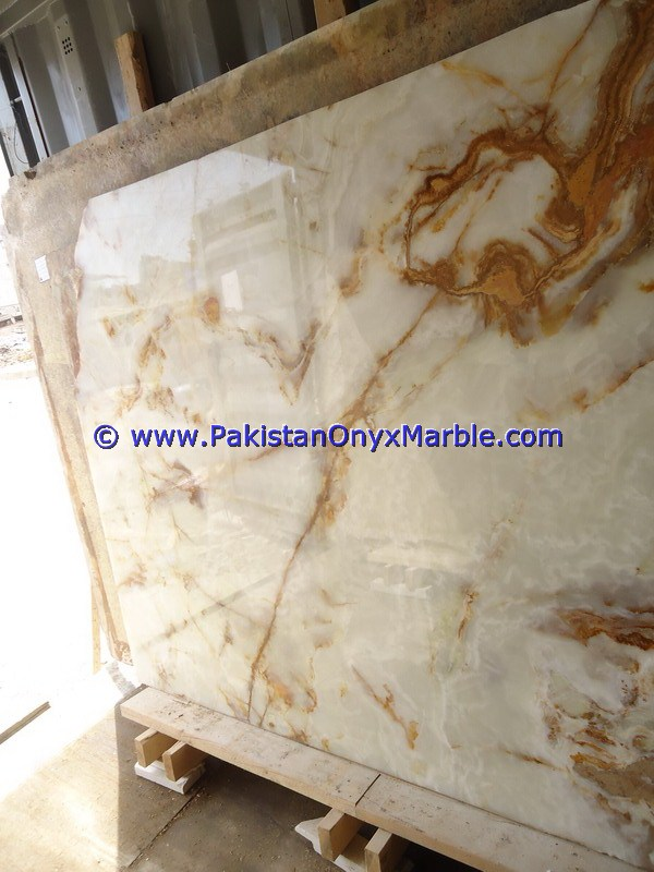 MANUFACTURER AND EXPORTERS WHITE ONYX SLABS