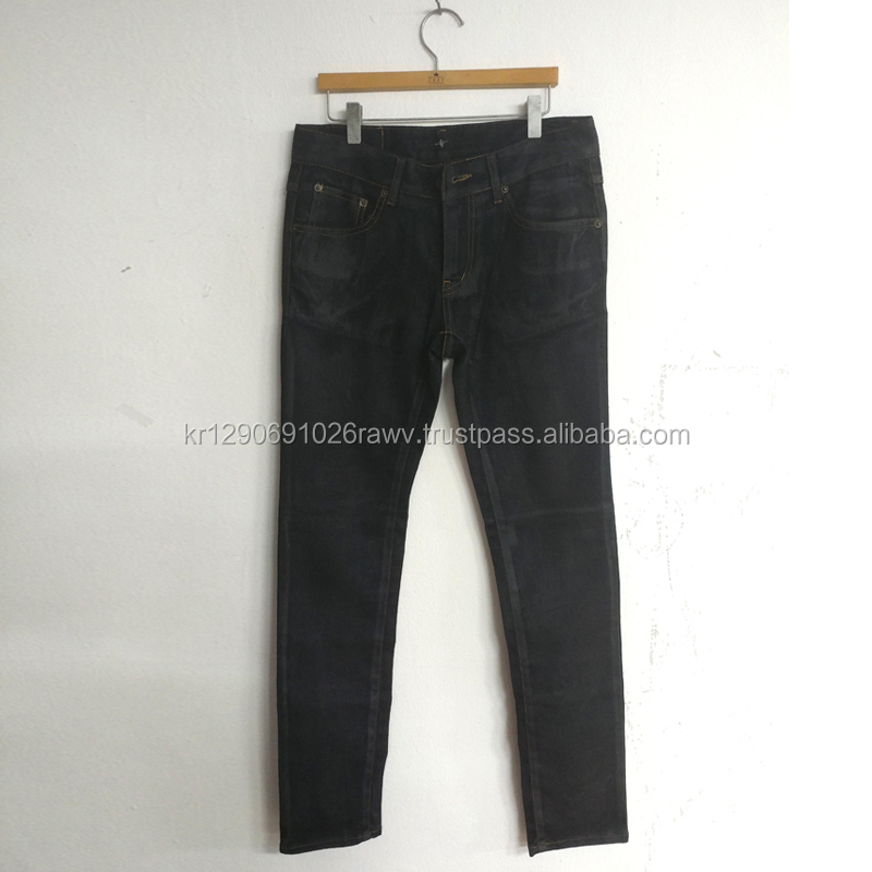 Competitive Price High quality South Korea OEM Production Material denim Jeans pants