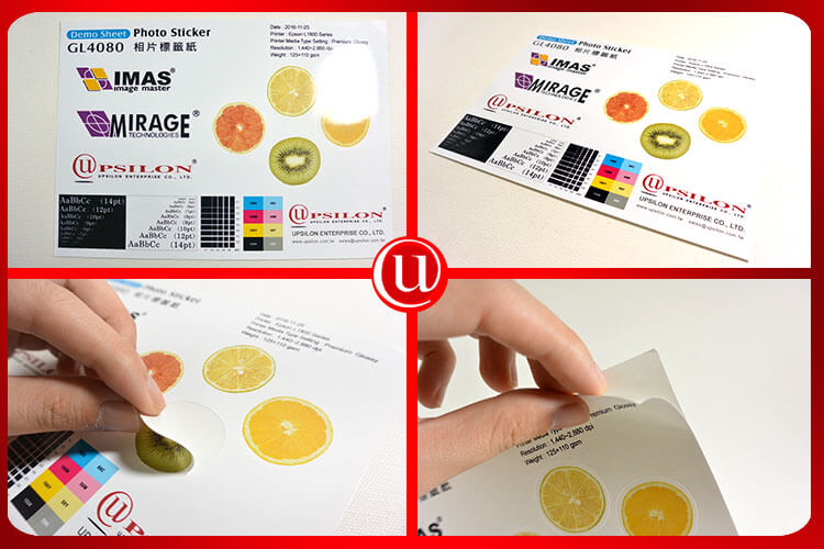 Best 100Sheets Packing Glossy A4 Sticker Paper For Inkjet