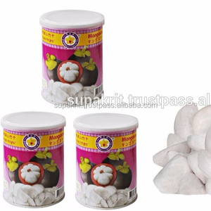 Thailand dry fruit best selling Vacuum freeze dried Thai Mangosteen 50 g tin can- Thai Ao Chi Brand - Dry Mangosteen fruit Snack