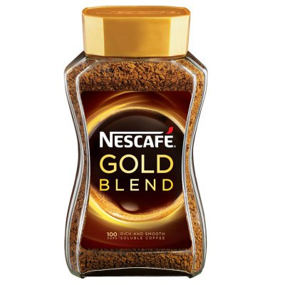 Arabica and Robusta Nescafe Gold 200g Coffee / Nescafe Gold Instant Coffee Powder in Glass Jar Packaging Malaysia