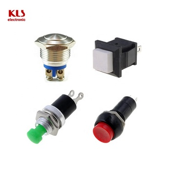 Good quality 201 KLS brand push button on-off tact switch