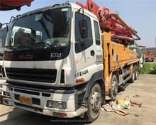 Pretty Concrete Pump Truck ISUZU Brand nearly new good quality 46meter