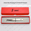 Art Card Box Volume Lash Tweezers Packaging with Private Label From ZONA Pakistan