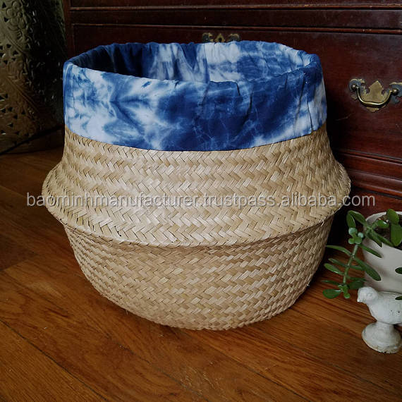 Vietnamese Seagrass Rice Basket