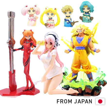 Box of Assorted High quality Anime Figures from Japan