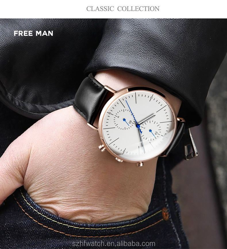 OEM ODM Quartz Wrist Watch Luxury Brand Your Logo Men Watches