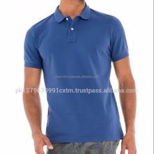 Short Sleeved Polo Shirt In Pique OEM\ODM Factory New Design Men Custom POLO T Shirt