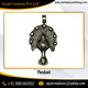 Latest Peacock Design Handmade Silver Pendant 925 Sterling Silver Jewelry Wholesale Supplier