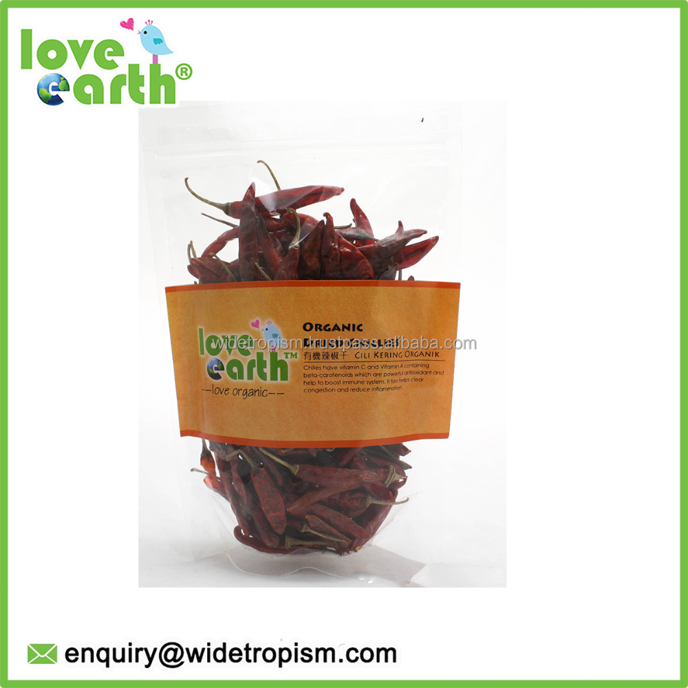 Love Earth Organic Dried Red Chilli