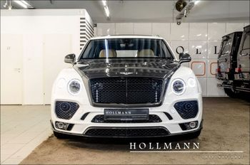 BENTAYGA V8 4.0 DIESEL MANSORY Modified Balck White Luxurious SUV