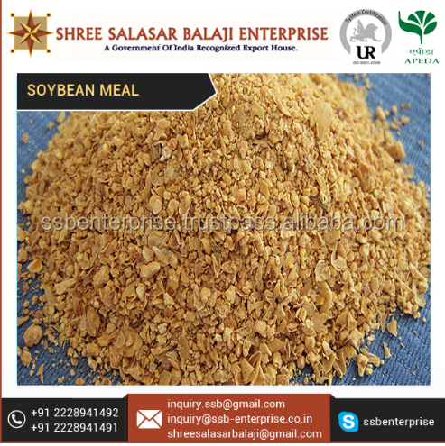 BEST SUPPLIER OF SOYABEAN MEAL AT A CONSIDERABLE RATE.