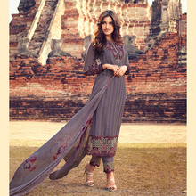 Daily Wear Straight Georgette Salwar Suit.
