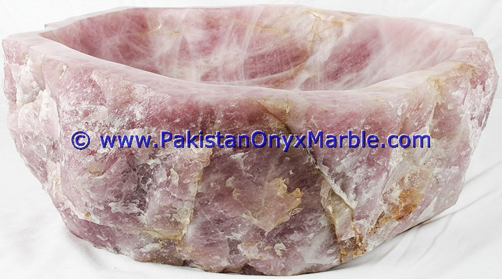 CUSTOMIZED SIZE HAND WASH PINK ONYX SINKS BASINS COLLECTION IN DIFFERENT SHAPED