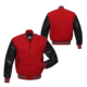 Men Varsity Jacket Fashion Long Sleeve Button Front Cotton Bomber Baseball Jackets