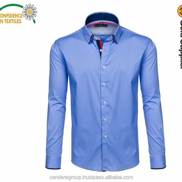 Men's dress shirt Men Plus Size Long Sleeve Male Business Casual Shirts Slim Fit Office Man's Dress Shirt