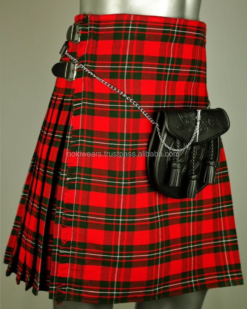 2017 full dress wedding kilt sporran for scottish party and tartan kilts/ At Noki