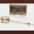 Brass Long Handle Cup tea strainers for loose tea