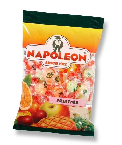 Napoleon Fruit Candy Various Flavours 150g