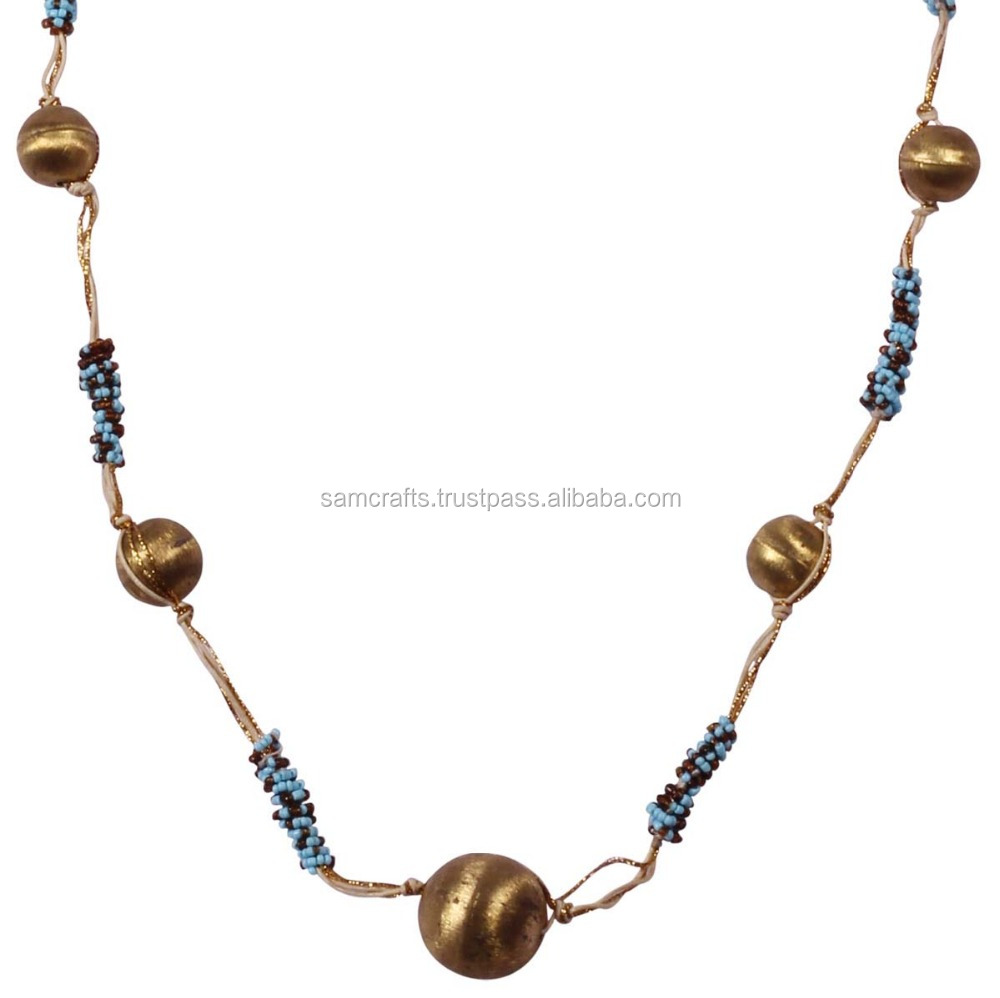 Nice brass ball chains at a lower price / necklace