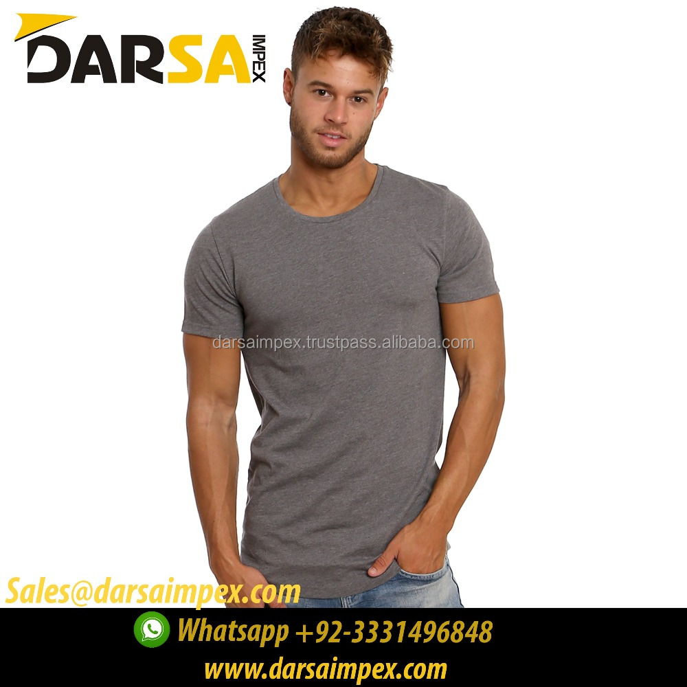 Olive color tee shirts round neck fitted arms