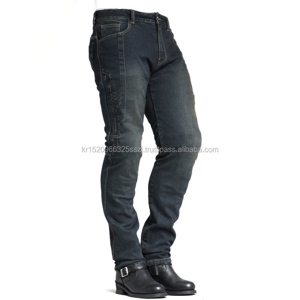 made in korea maxler jean motorcycle jean for man motorbike pants tight stretch fit denim