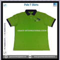 Green Mens Polo T Shirts with new design Logo