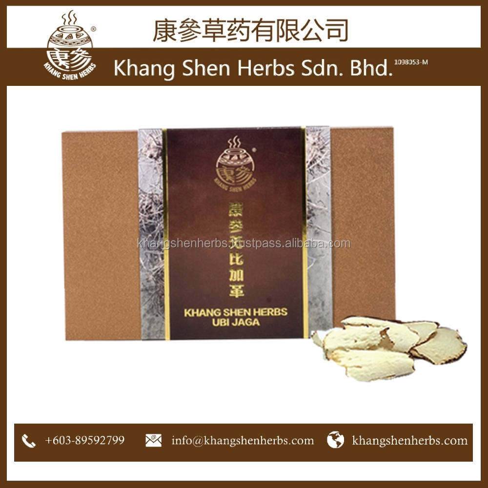 High Quality Khang Shen Herbs Ubi Jaga Slices Raw Material Herbal Medicine