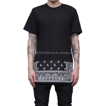 bandana tshirt for men/unisex