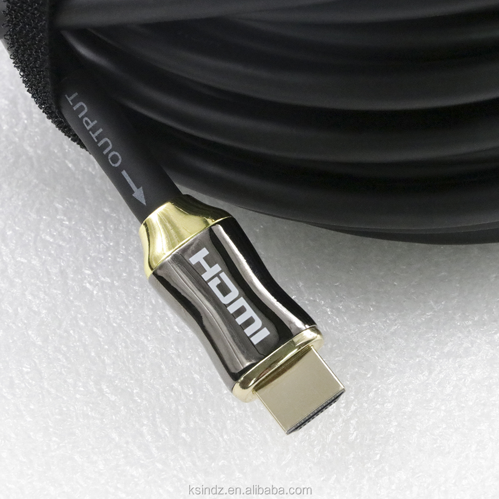High Speed Direct sale Braided Ultra v2.0 Ethernet HDTV 2160p 4K 3D gold plated Hdmi Cable for best male videos