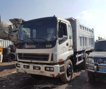 Original Japan used isuzu dump truck for sale, Cheap price used isuzu 6x4 japan isuzu dump truck