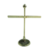 Antique Brass Metal Designer Jewelry Display Stand