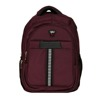 Infinit laptop backpack, maroon color, laptop/school backapck