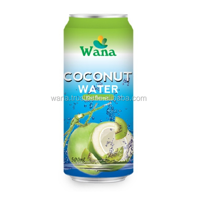 Coconut Drink With KiWi Flavor in 500ml Can
