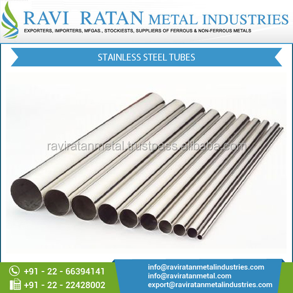 Superior Grade Stainless Seamless Steel Tubes at Factory Price