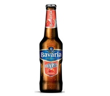 Bavaria Malt Strawberry flavor (0%Alc) Beer 24x33cl BOTTLE