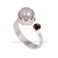 Pearl Beautiful 925 Sterling Silver Ring