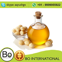 Food Grade Extra Virgin Macadamia Nut Oil Edible Essential Oil For Cooking
