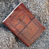 Dragon Embossed Leather Journal Diary With