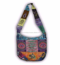 New Design Embroidered Handmade Patchwork Canvas Handbags