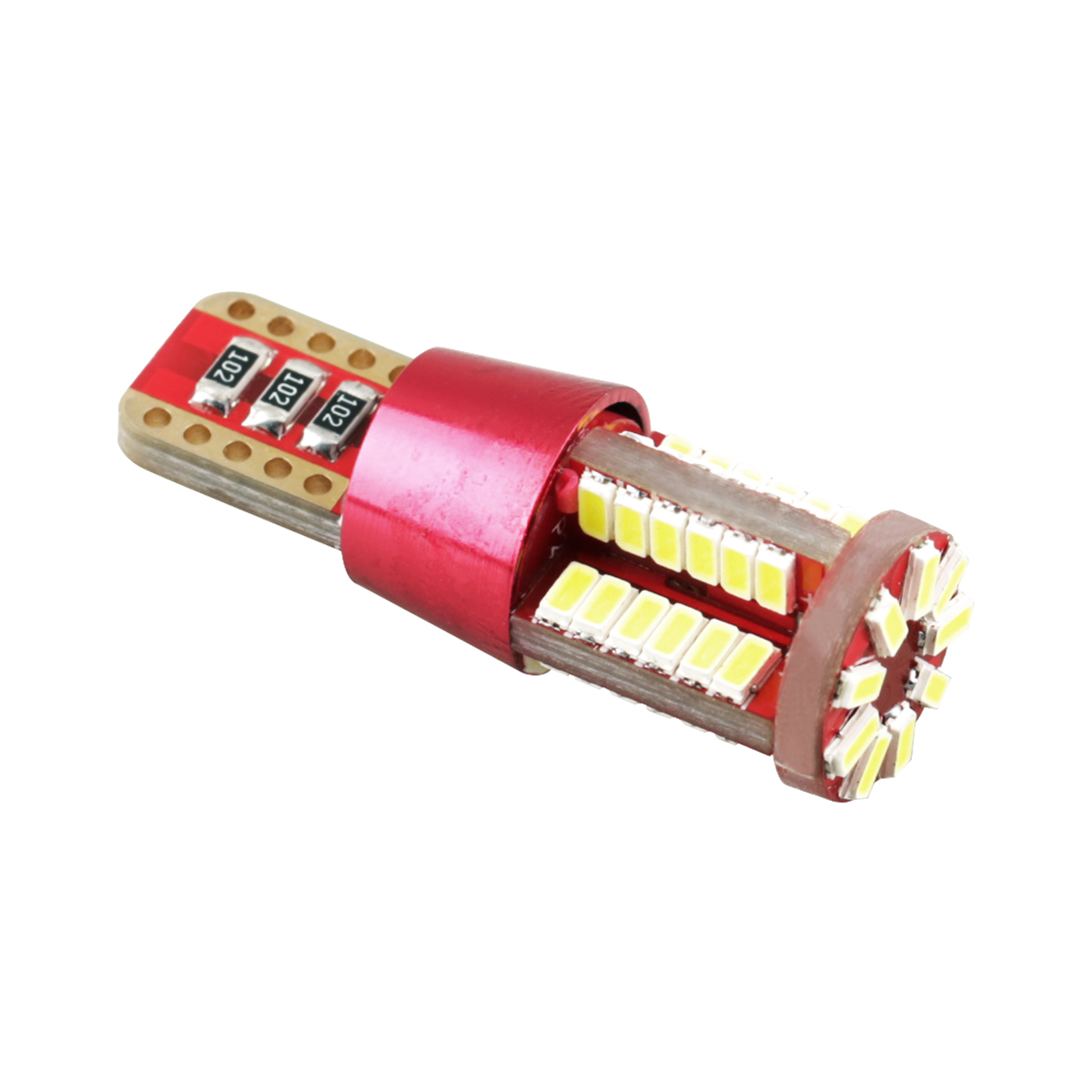 Wholesale T10-LED light bulb 57SMD 3014 car interior led bulb canbus lamp T10/T20/T15/1156/1157 /7443/Ba5s/3156/3157 C5W led