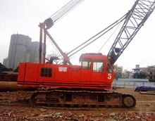 USED CRAWLER CRANE HITACHI 50TON KH180-3