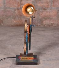 Camera Style Vintage Industrial Floor Lamps For Sale